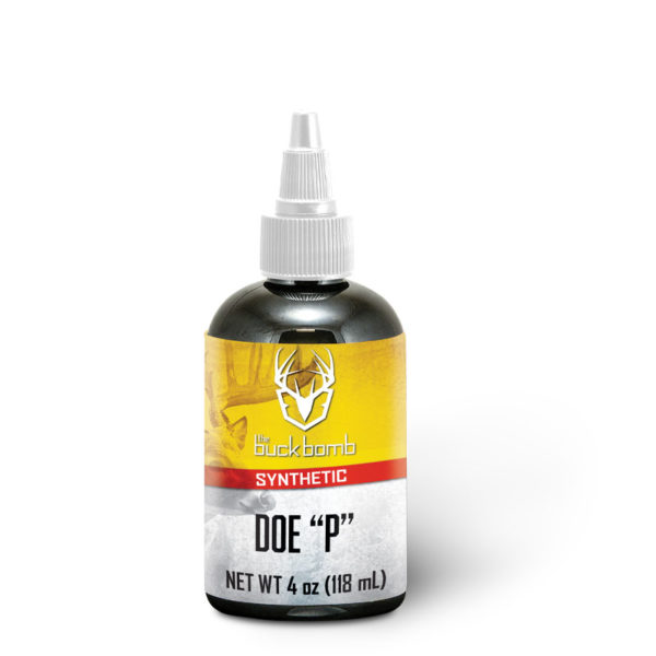 "Synthetic Doe ""p"" Liquid W/ Wicks"